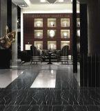 De opgepoetste Zwart-witte Zwarte Marmeren Tegel van de Bevloering Marquina voor Vloer en Muur