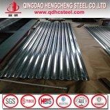 Hoja acanalada galvanizada venta caliente del material para techos