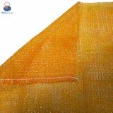 China 100% PE Saco de malha de plástico com desenhar String