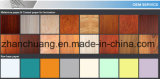 Papel decorativo impregnado melamina de madera del diseño del Burl para el MDF de los muebles