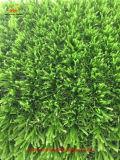 Gazon artificiel à haute densité d'herbe du football sans remplissage