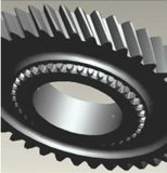 Powder Metallurgy Processing의 비표준 High Precision Iron Motocross Gear