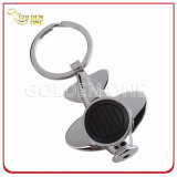 Custom Flat Shape LED Torch Metal Key Holder