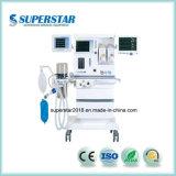 """Anestesia del superstar S6600 con """" schermo di tocco dell'affissione a cristalli liquidi 15 per la stanza di Operationg o ICU con il certificato di Ce, dell'iso, di Cfda ecc"""