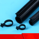 O-vorm de Waterdichte Verbinding van de Deur van het Silicone Rubber voor Automobiel