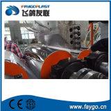 Línea de tubería trenzada de PVC