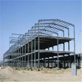 Светлая рамка стальной структуры для мастерской