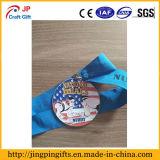 Hight Qualität fertigen empfindliche Zink-Legierungs-Sport-Medaille kundenspezifisch an