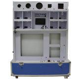 Cabinet LED couleur verte pour test et démonstration d'échantillon