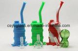 Waterpijp van het Glas van het silicone de Rokende