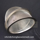 Filtro Infuser da recolocação do filtro do Teapot do filtro do chá do engranzamento do Drainer do aço inoxidável/potenciômetro do chá