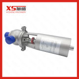 """воздуха 1.5 """" перекрывной клапан санитарных SS304 нержавеющей стали 38.1mm пневматический"""