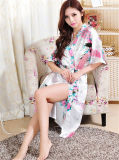 신식 섹시한 아름다운 일본 실크 일본 옷 겉옷 (FS5821)