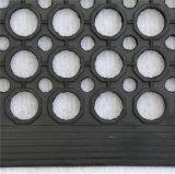 Couvre-tapis en caoutchouc personnalisé de /Anti-Bacteria d'anti de glissade de couvre-tapis couvre-tapis en caoutchouc résistant en caoutchouc de /Acid avec le trou