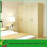 Guardarropa moderno del dormitorio del diseño simple del estilo