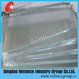la glace ultra claire de 5mm/6mm/8mm/10mm/repassent bas glace en verre/transparente avec l'OIN de la CE