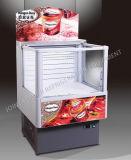 Congélateur chaud d'île de crême glacée de vente pour le supermarché
