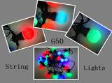 G50 LED multi colorido polias dianteiras