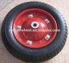 Tipo dell'orlo da 7 pollici rotella di gomma pneumatica del carrello della riga della barra da 14 pollici