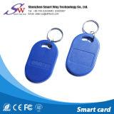 13.56MHz original Ntag213 RFID passivo Keychain para o cartão do controle de acesso