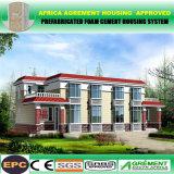 Aufbau-Lager-Krankenhaus-Fertighaus-modulare Gebäude-Schule mit Kleber-Panel