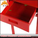 Простая конструкция красочные металлические тумбочками с выдвижной ящик
