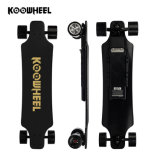 Planche à roulettes automatique motorisée électrique amplifiée le meilleur par adulte de Koowheel