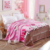 여보세요 공동 자금 침대 담요, 침대보, 던짐, 연약한 산호 Flannel 담요