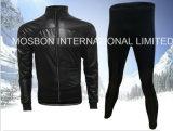 羊毛の高品質のPUのフルセットの循環のジャケット