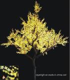 Luz al aire libre del árbol de sauce de la decoración LED del hotel de la calle de la Navidad