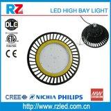 Diseño Popular OVNI de la Bahía de alto 200W de luz LED Industrial de la Bahía de alta