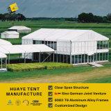 明確なスパンの販売のためのアルミニウム構造の二重デッカーのイベントのテント