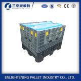 Contenitore di pallet di plastica pieghevole resistente della Cina da vendere