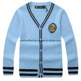 Rebeca al por mayor del suéter del bebé del uniforme escolar del adolescente de las muchachas de los muchachos de los niños de la fábrica