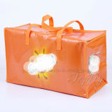 Напольный Nonwoven прокатанный изолированный мешок Tote подарка еды охладителя обеда