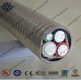 Câble normal de Mc de conducteur isolé par XLPE de l'alliage UL1569 AA-8330 d'aluminium