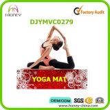 De kleurrijke Bloemen Afgedrukte Mat van de Yoga, de Volledige Mat van de Sporten van de Lengte