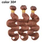 Бразильские человеческие волосы девственницы Weave оптовой цены Burgundy 99j объемной волны волос