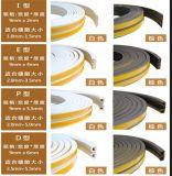 De elastische Tochtstrip van de Verbinding van het Schuim van de Bescherming van de Deur Met Kleefstof