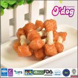 Право кролика ручки Myjian белое Munchy для собачьей еды