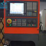 Tipo orizzontale tornio Ck6180 del sistema di Fanuc di CNC della base piana