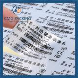 Настраиваемые матовый серебристый наклейку с сильным клея (CMG-STR-006)