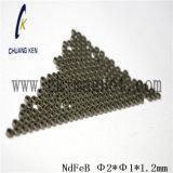 Ck235 NdFeBの磁石の等級のΦ 2*Φ 1*1.2mm