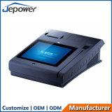 10inch allen in het Één Scherm POS van de Aanraking met Printer/van WiFi/3G/Nfc/Camera/Bt/Magcard en iC-Kaart Lezer