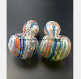 2.95 Zoll Farben-Glas-bespritzt Filter-Öl-Wiederanlauf-Rohre mit einem Schlauch