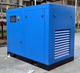 Compresor de aire rotatorio lubrificado por aceite eléctrico del tornillo