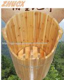 Barilotto di legno del piede della vasca del piede del barilotto di legno rotondo del bagno