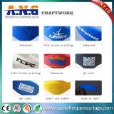 Изготовленный на заказ браслет Wristbands 125kHz Tk4100 RFID печатание RFID логоса для курорта