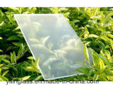 Le verre trempé faibles en fer Mistlite verre solaire avec 3,2 mm 4 mm, revêtement AR