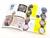 プロフェッショナルパーフェクトバインディングフルカラーカタログデザイン印刷(DPC-014)